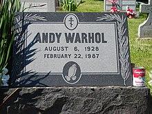 Andy Warhol Wikipedia