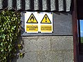 Warning signs - geograph.org.uk - 439756.jpg