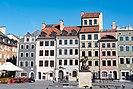 Gebäude in der Warschauer Altstadt