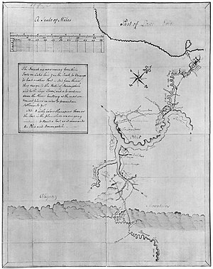 George Washington - Washington's map, accompanying his Journal to the Ohio (1753–1754)