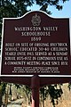 Washington Valley Schoolhouse, Washington Valley, NJ - information sign.jpg