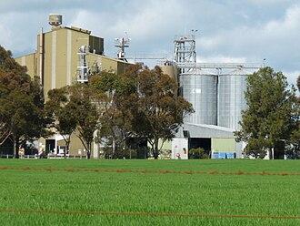Wasleys, South Australia - Image: Wasleys feed mill