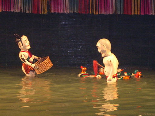 Water Puppets and Ducks, Hanoi