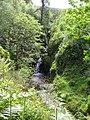 Waterfall, Gortin Glen Forest Park - geograph.org.uk - 1350778.jpg