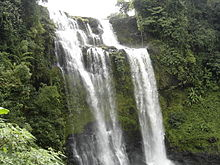 Waterfall in Paksong district