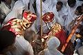 Wedding ceremony at Ethiopian church - טקס חתונה מסורתי בכנסייה האתיופית.jpg