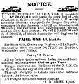 Welcome steamboat ad Oregonian 31 Aug 1874 p2.jpg