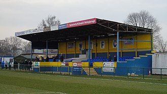 Wellingborough Town F.C. - wellingborough town fc main seated stand