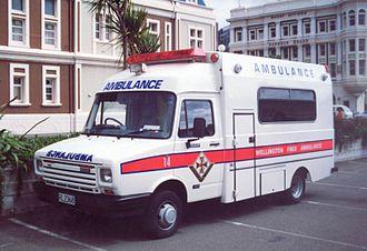 LDV Convoy - Wellington Free Ambulance Leyland DAF 400 Series