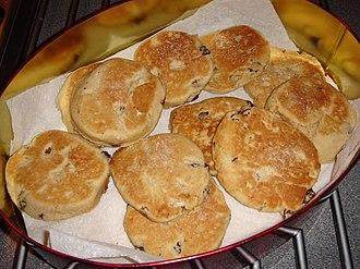 Welsh cuisine - Welsh cakes