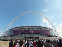 Wembley Stadium during London 2012 Olympic Games.JPG