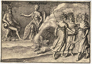 Wenceslas Hollar - The Greek gods. Pluto