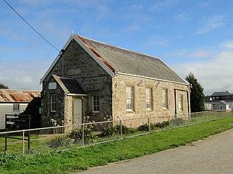 Ceres, Victoria - Wesleyan Chapel built 1853