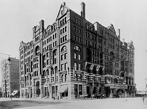 West Hotel - The West Hotel, 1896