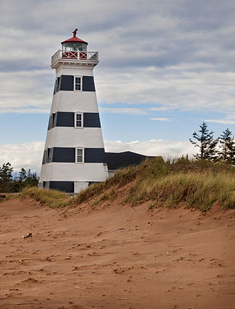 West Point, Prince Edward Island - West Point Lighthouse