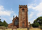 West end and tower of St Peter's church, Heswall.jpg