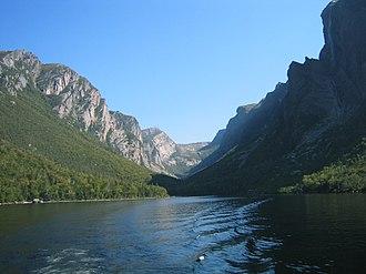 Long Range Mountains - Image: Western Brook Pond
