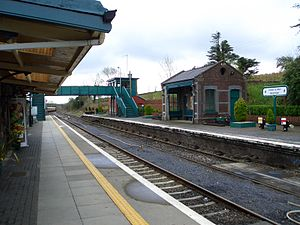 Westport railway station, Mayo - Westport station