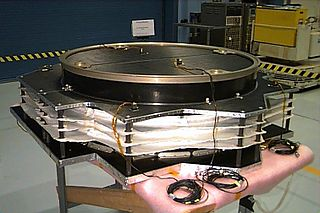 Whipple shield type of hypervelocity impact shield used on spacecraft