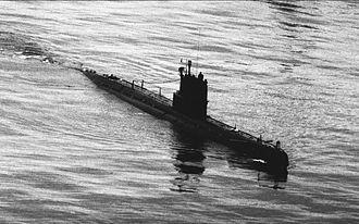 Autolycus (submarine detector) - Image: Whiskey class submarine