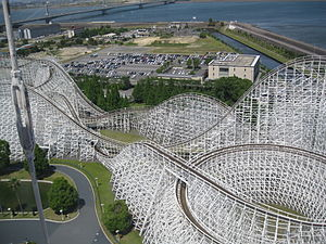 White Cyclone - Closer aerial view of White Cyclone