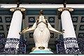 Wien-Penzing - Weibliche Figur von Ernst Fuchs vor der Otto Wagner-Villa.jpg