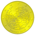 Wikipedia birthday coin.png