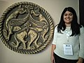 Wikipedian in residence Teodora Lukić at Institute for the Protection of Cultural Monuments of Serbia 05.jpg