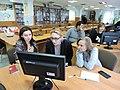 Wikiworkshop at Library of S. Kuznets KhNUE 2019-02-13 by Kharkivian 04.jpg