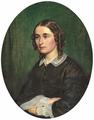 Wilhelm Marstrand - Portræt af Fanny Maria Ophelia Schiern, née Beutner - 1861.png