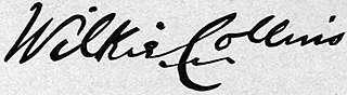 Wilkie Collins' Signature
