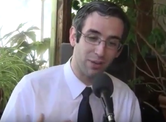 Will Guzzardi - Guzzardi during a radio interview (2011)
