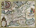 Willem Janszoon Blaeu. Tabula Russiae ex autographo, quod delineandum curavit Foedor filius Tzaris Borois desumta. MDCXIIII.jpg