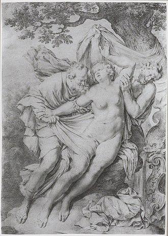 Francis van Bossuit - Image: Willem van Mieris Suzanna and the elders after Francis van Bossuit