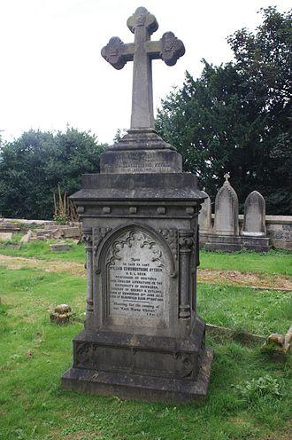 William Edmondstoune Aytoun - William Edmondstoune Aytoun's grave, Dean Cemetery