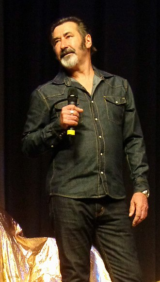 William Kircher - William Kircher on April 5, 2015 at the Hobbitcon III convention in Bonn, Germany