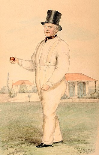 William Lillywhite - Image: William Lillywhite by JC Anderson