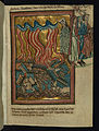 William de Brailes - Lot and his Family Flee Sodom (Genesis 19-15-26) - Google Art Project.jpg