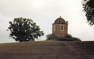 Anthony Ashley-Cooper, 3rd Earl of Shaftesbury - Philosopher's Tower on the Shaftesbury Estate
