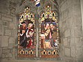 Window depicting St Nicholas of Myra rescuing young boys from a cruel death - geograph.org.uk - 914961.jpg