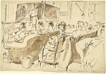 Wing Commander Patamianos lectures on aerial campaign in Greece Art.IWMART15245.jpg