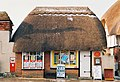 Winterbourne Dauntsey, snow-topped thatched post office - geograph.org.uk - 472151.jpg