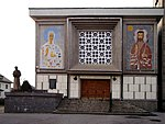 Wola Filipowska - kościół pw. św. Maksymiliana Kolbe i Królowej Polski (02).jpg