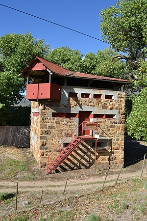 Wolseley, Western Cape - The Wolseley Blockhouse built in 1901 during Anglo-Boer War.