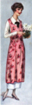Woman's Home Companion 1919 - Housedress and pink apron.png