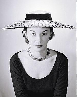 1954 in Australia - Image: Woman modelling streetwear, Australia 1954