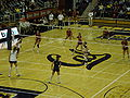Women's volleyball, USC at Cal 11-22-08 3.JPG