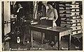 Women working at a binding machine in Everett, ca 1915 (MOHAI 6458).jpg
