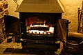 Wood-burning stove at The Black Horse Inn, Nuthurst, West Sussex.jpg