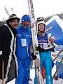 World Junior Championship 2010 Hinterzarten - Elena Runggaldier coach Chaplin 199.JPG